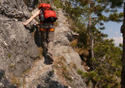 Klettersteig / Kletterpark
