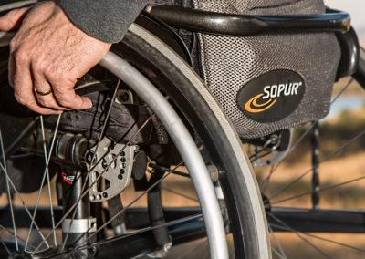 Möglichkeit für Aktivitäten für Behinderte