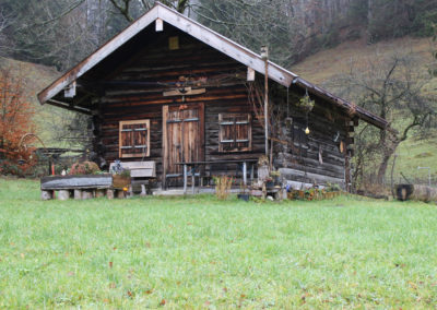 Wandererschutzhütte zum Übernachten