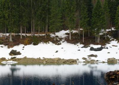 Bergsee als Wasserspeicher